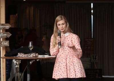 Oplæg fra Tanja Gotthardsen på bæredygtig bryllupsmesse