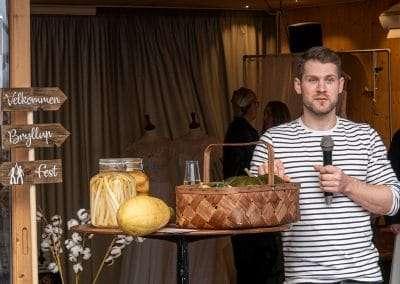 Oplæg om Hærværks madunivers på bæredygtig bryllupsmesse
