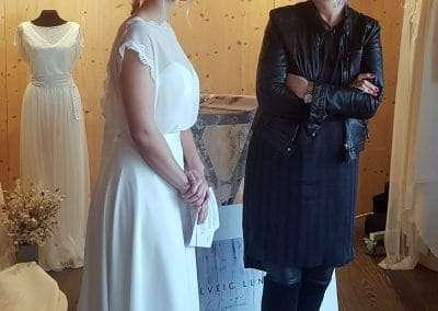 Solveig Lundbæk på bæredygtig bryllupsmesse