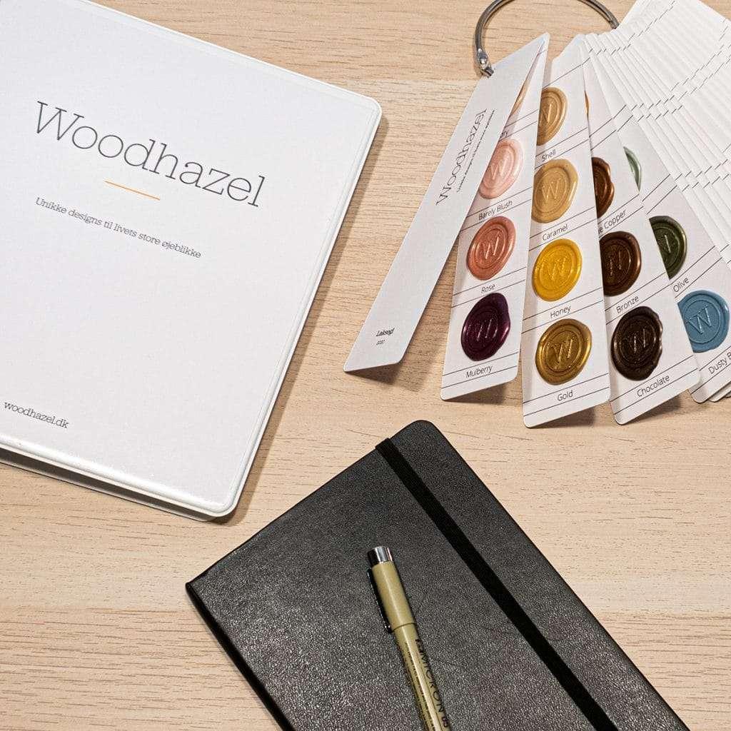 Custom design indledende møde med laksegl