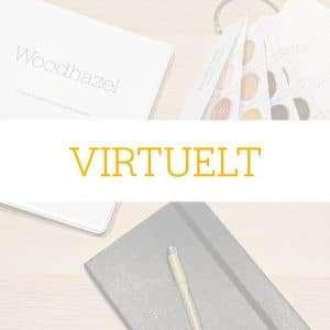 Custom design møde Virtuelt over Zoom - et unikt design