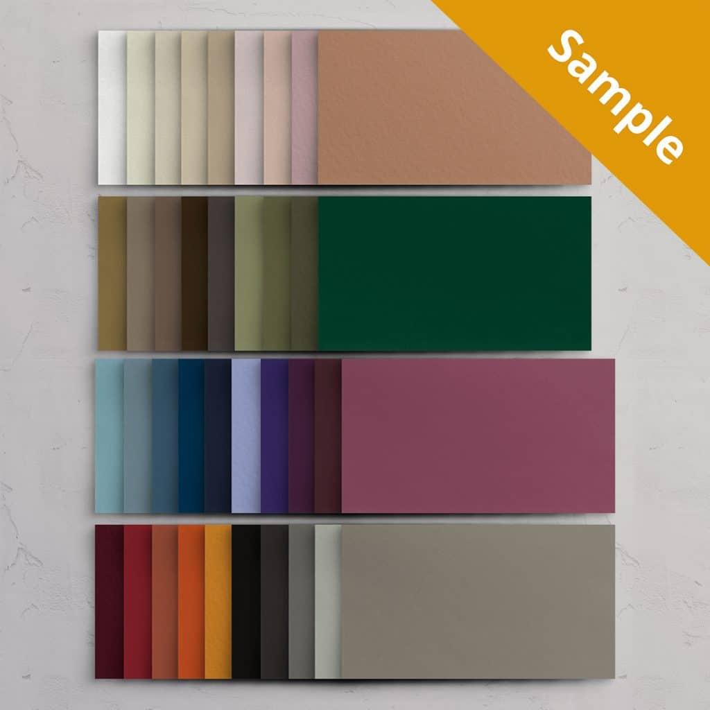 Farveprøve Specialpapir / Pocketfold