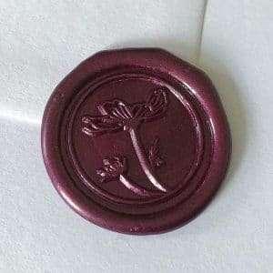 Laksegl Anemone Mulberry Pearl / rødlilla